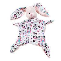 Комфортер первая игрушка малыша Зайка- засыпайка