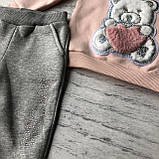 Теплый костюм с начесом  на девочку 445. Размер 86 см, 92 см, 98 см, 104 см, фото 3