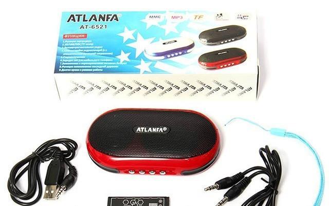 Мини колонка ATLANFA AT- 6521