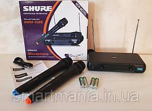 Радіомікрофони, бездротова радіосистема з базою Shure AWM-508R