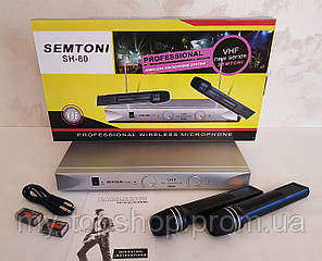 Радіомікрофони, бездротова радіосистема Semtoni SH-80