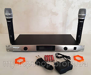 Радіомікрофони вокальні для караоке SHURE UGX8II