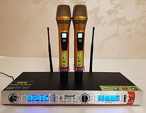Радіомікрофони вокальні для караоке SHURE UGX9II