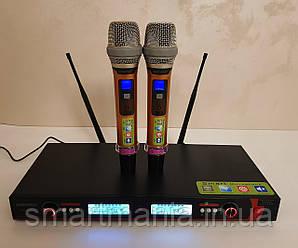 Радіомікрофони вокальні для караоке SHURE UGX10 II