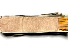 Турмалиновый пояс с магнитами Вековой Восток светлый (120 см. и больше за счет резинок), фото 2