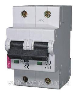 Автоматичний вимикач 2p 125A C ETIMAT10