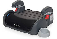 Бустер детский автомобильный El Camino ME 1044 RORO, группа 3, вес ребенка 22-36 кг, серый с черным