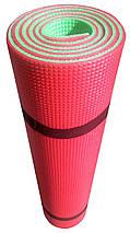 Коврик для тренировок «SPORT PREMIUM» 1800х600х8мм (Двухслойный), фото 3