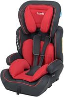 Детское автомобильное кресло с бустером для ребенка Bambi M 4250 (9-36 кг) с системой ISOFIX Красный
