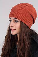 Стильная женская зимняя шапка, фото 1