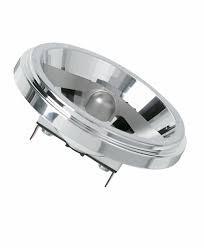 Лампа галогенная 50Вт G53 OSRAM 41835 WFL d 111 мм 45 град. HALOSPOT STANDARD