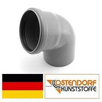 Колено PP 110х67 внутренней канализации Ostendorf HT Германия