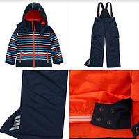 ТЕРМОкомбинезон TOPOLINO - это самый тёплый из всего модельного ряда.сине-оранжевый