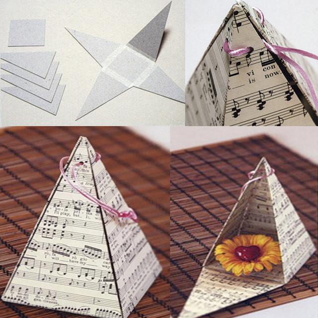 """упаковка """"пирамида"""""""