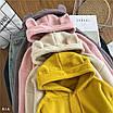 Женское плюшевое худи на флисе с ушками на капюшоне (размер 42-46) 77dm923, фото 9