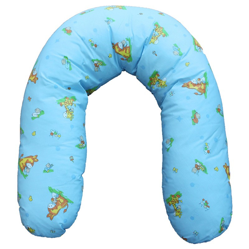 Подушка-обнімашка 100 % бавовна, наповнювач холлофайбер.