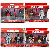 Герои Roblox 1838-1-2-3-4 Комплект 2 фигурки 4 вида Роблокс
