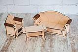 Кукольный домик с мебелью для Барби, LOL Markissa TM, фото 8
