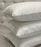 Подушка ЭКОПУХ 50х70 с наволочкой на замке 100% хлопок | Подушка для сна Антиаллергенная ОДА, фото 2