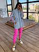 Женский спортивный костюм со светоотражающей ветровкой и штанами джоггерами (р. 42-44) 66rt1108Q, фото 8