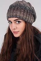 Молодежная вязаная шапка, фото 1