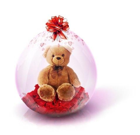 подарок в воздушном шарике