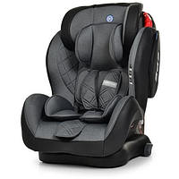 Универсальное автомобильное кресло с бустером для детей El Camino 9-36 кг ME 1057 BASTION Isofix Темно-серый