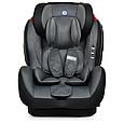 Универсальное автомобильное кресло с бустером для детей El Camino 9-36 кг ME 1057 BASTION Isofix Темно-серый, фото 3