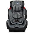 Универсальное автомобильное кресло с бустером для детей El Camino 9-36 кг ME 1057 BASTION Isofix Темно-серый, фото 4