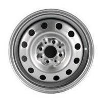 Диск сталевий SKOV Fiat Doblo Punto Linea 5x14 4x98 ET35 DIA58.5 Silver срібло