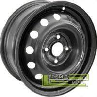 Диск колісний Nissan Micra 5.5x14 4x100 ET36 DIA60.1 Black чорний SKOV Steel Wheels
