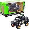Машинка игровая Автопром Defender Черный со световыми и звуковыми эффектами (7681)