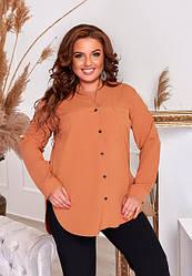 Жіночі блузи та сорочки батал (48-66)