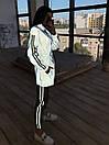 Женский спортивный костюм со светоотражающей ветровкой и штанами джоггерами (р. 42-44) 66spt1108Q, фото 10