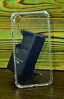 Прозрачный противоударный чехол на Iphone Xr