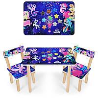 """Набор мебели - столик и 2 стульчика """"Pony"""""""