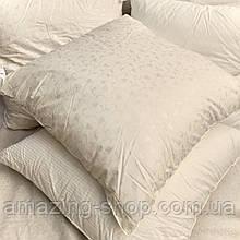 Подушка ЭКОПУХ 70х70 с наволочкой на замке 100% хлопок   Подушка для сна Антиаллергенная ЕКОПУХ ОДА