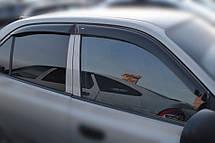 Дефлекторы окон Hyundai Accent II Sd 1999-2005 | Дефлекторы окон Hyundai Accent II Sd 1999-2005 | Ветровики Хе