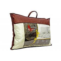 Стеганная подушка 70х70. Ткань жаккард трикотажный. Наполнитель холофайбер