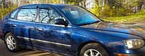 Ветровики Хендай Элантра | Дефлекторы окон Hyundai Elantra III Hb 5d 2000-2006