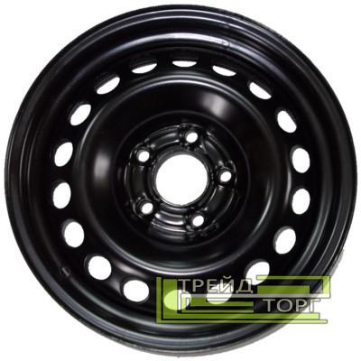 Диск колісний Skoda Octavia II 6x15 5x112 ET47 DIA57,1 Black чорний SKOV Steel Wheels