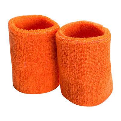Напульсник махровый, 2шт, оранжевый, фото 2