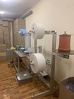 Линия (станок, оборудование) по производству медицинских масок! Потенциал до 100 тысяч заготовок в смену