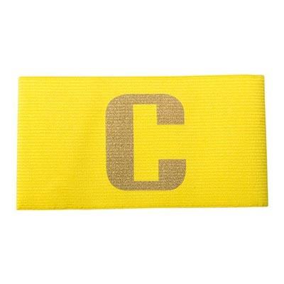 Капитанская повязка желтая
