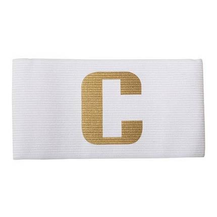 Капитанская повязка белая, фото 2