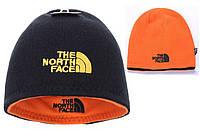Зимние шапки двусторонняя The North Face Jack Wolfskin