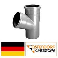 Тройник PP 110/110х67 внутренней канализации Ostendorf HT Германия
