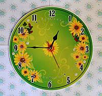 Часы Настенные Подсолнушки