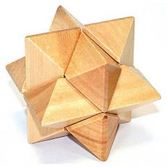 Деревянная головоломка Звезда