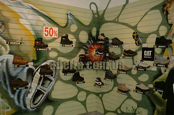 Экономпанель для магазина спортивно обуви